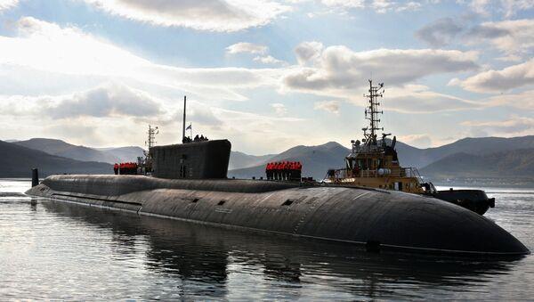 Submarino atómico ruso (imagen referencial) - Sputnik Mundo