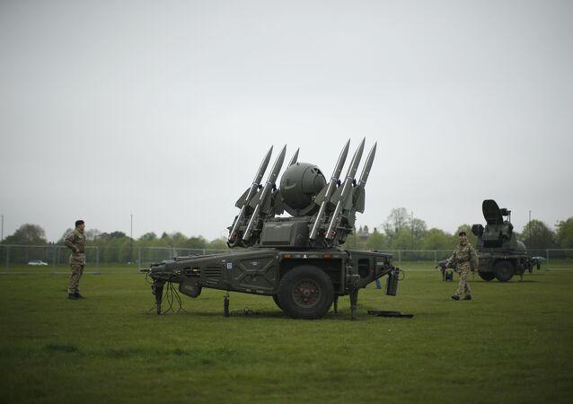 Armamento británico (imagen referencial, archivo)