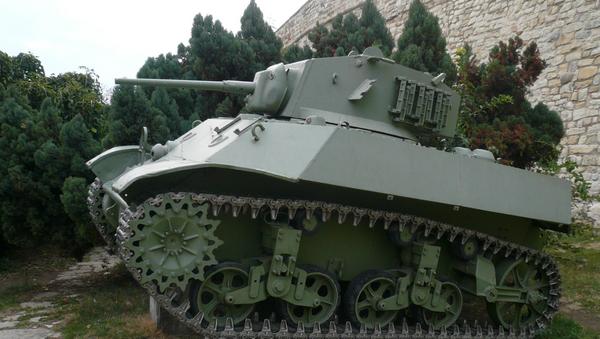 Un tanque M3 Stuart - Sputnik Mundo