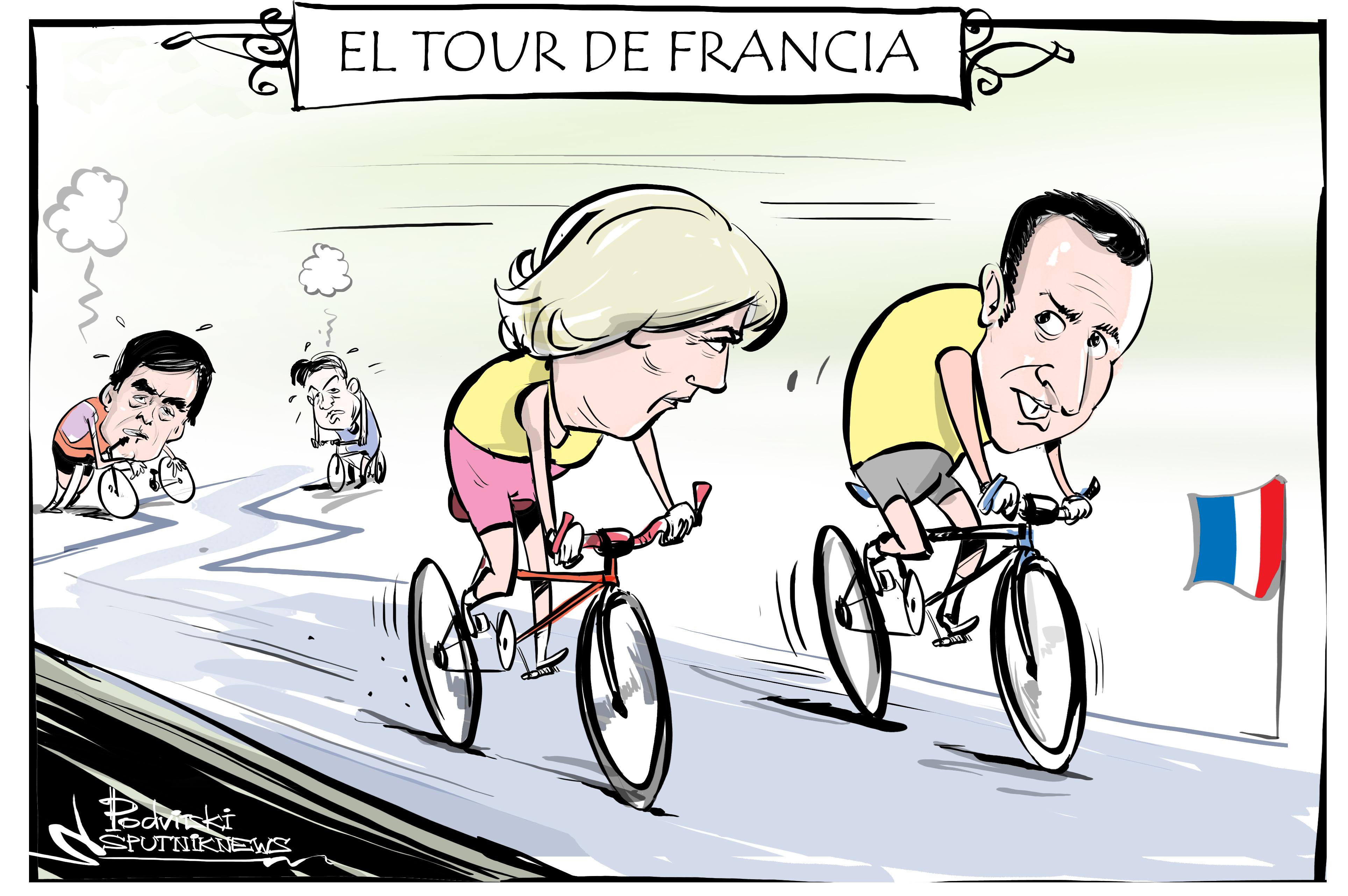 ¿Le Pen o Macron? El Tour de Francia se decidirá en la segunda etapa