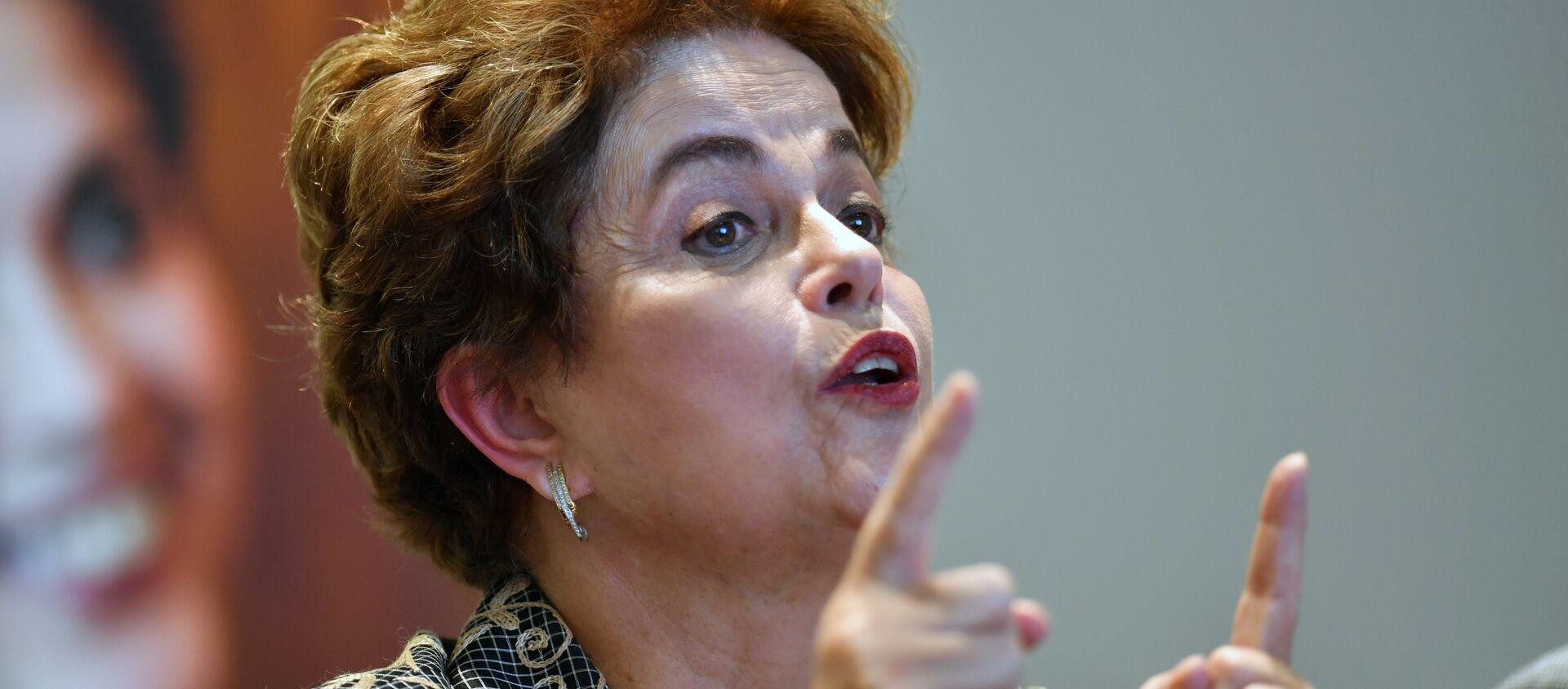 Dilma Rousseff, expresidenta de Brasil - Sputnik Mundo, 1920, 29.01.2021