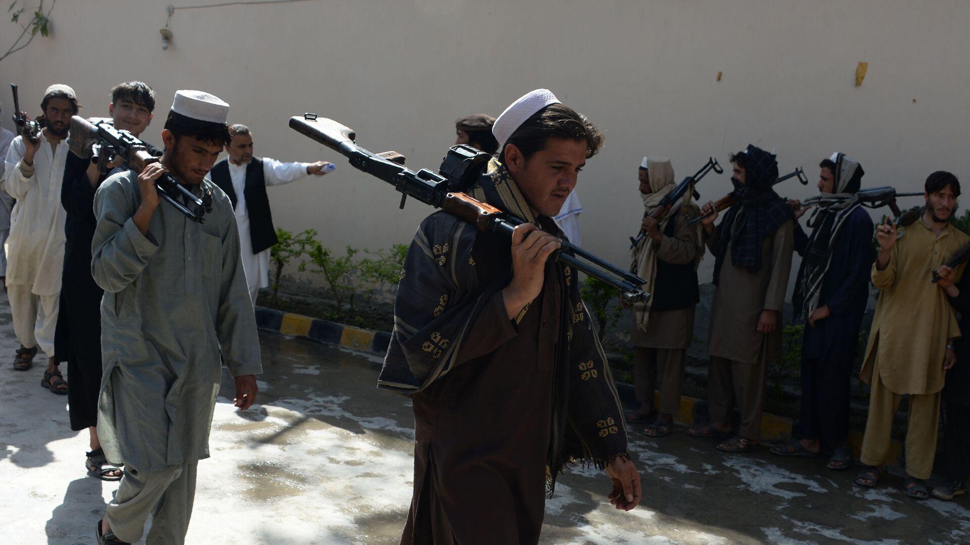 Talibanes afganos (archivo) - Sputnik Mundo, 1920, 30.06.2021