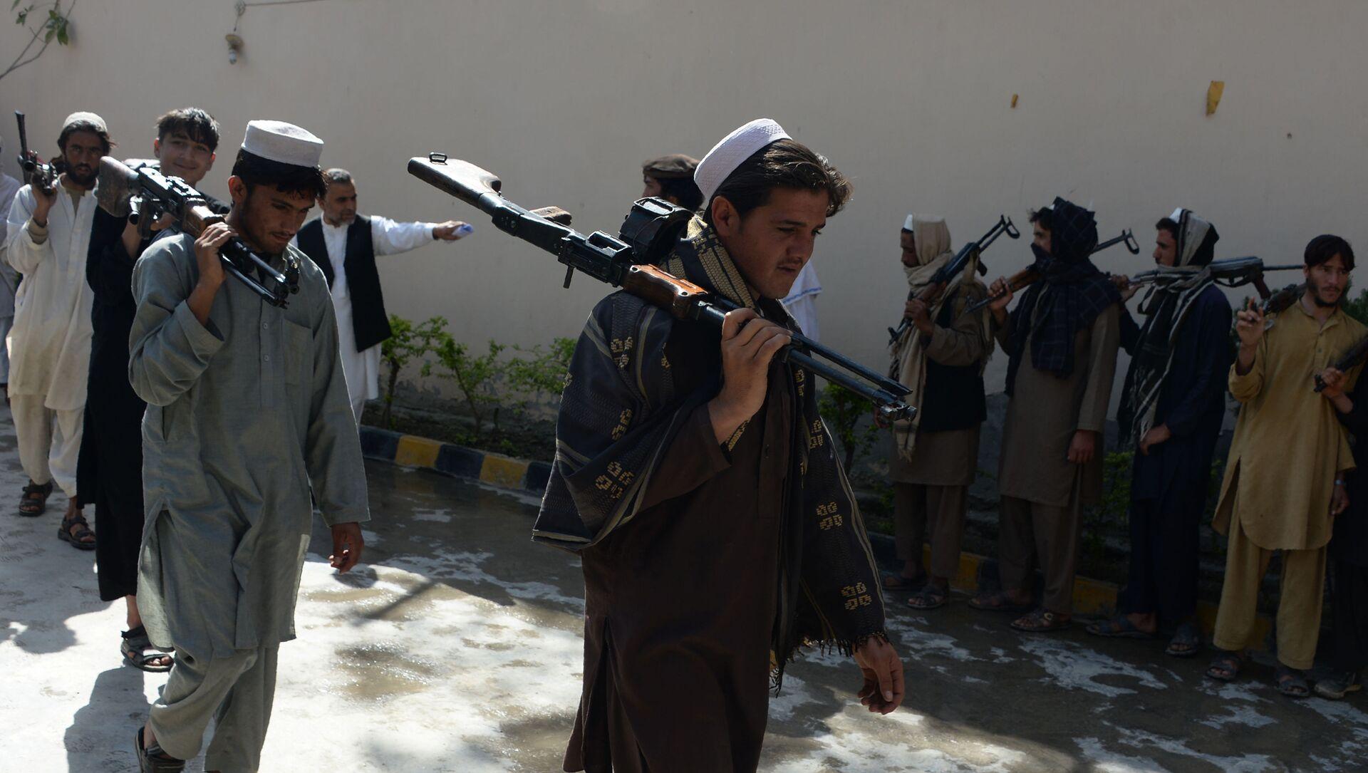 Talibanes afganos (archivo) - Sputnik Mundo, 1920, 07.02.2021