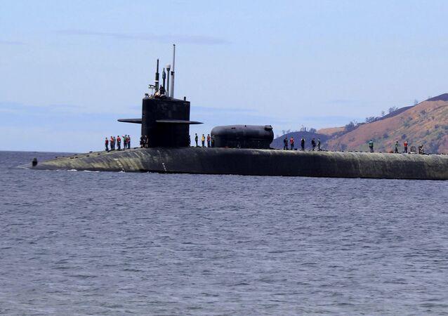 USS Michigan, un submarino de la clase Ohio