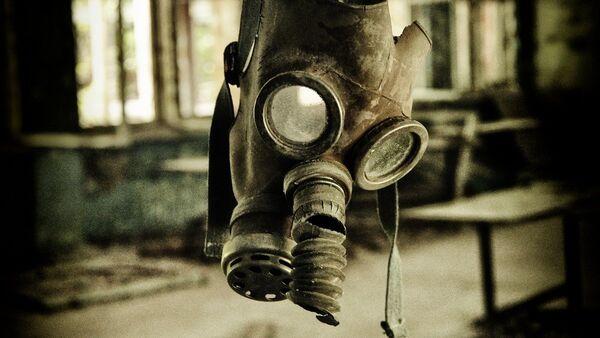 Máscara antigás (imagen referencial) - Sputnik Mundo