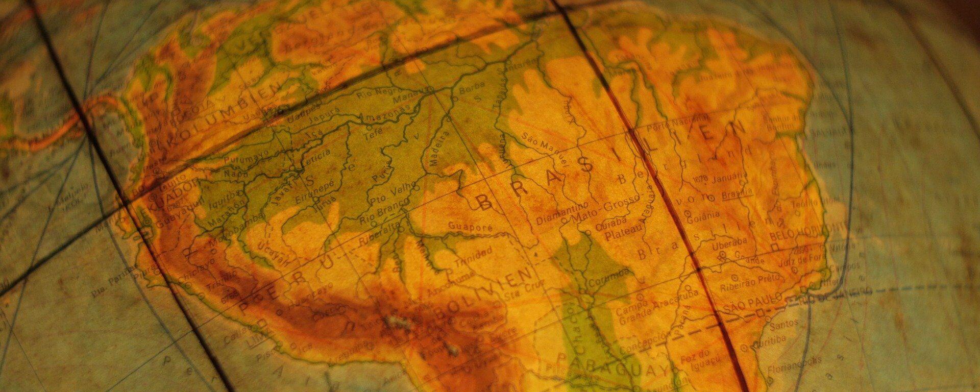 Mapa de América Latina - Sputnik Mundo, 1920, 11.06.2019