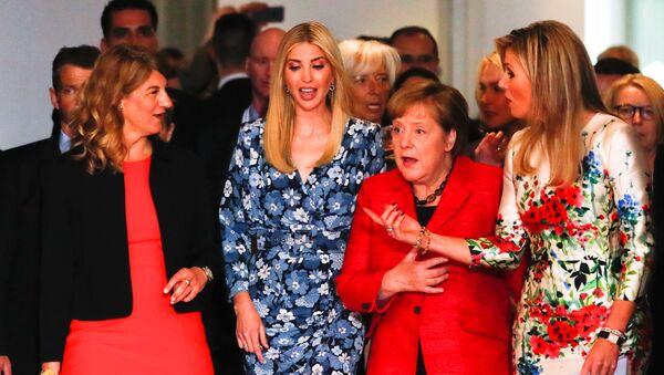 Ivanka Trump toma parte en la Cumbre del G20 - Sputnik Mundo