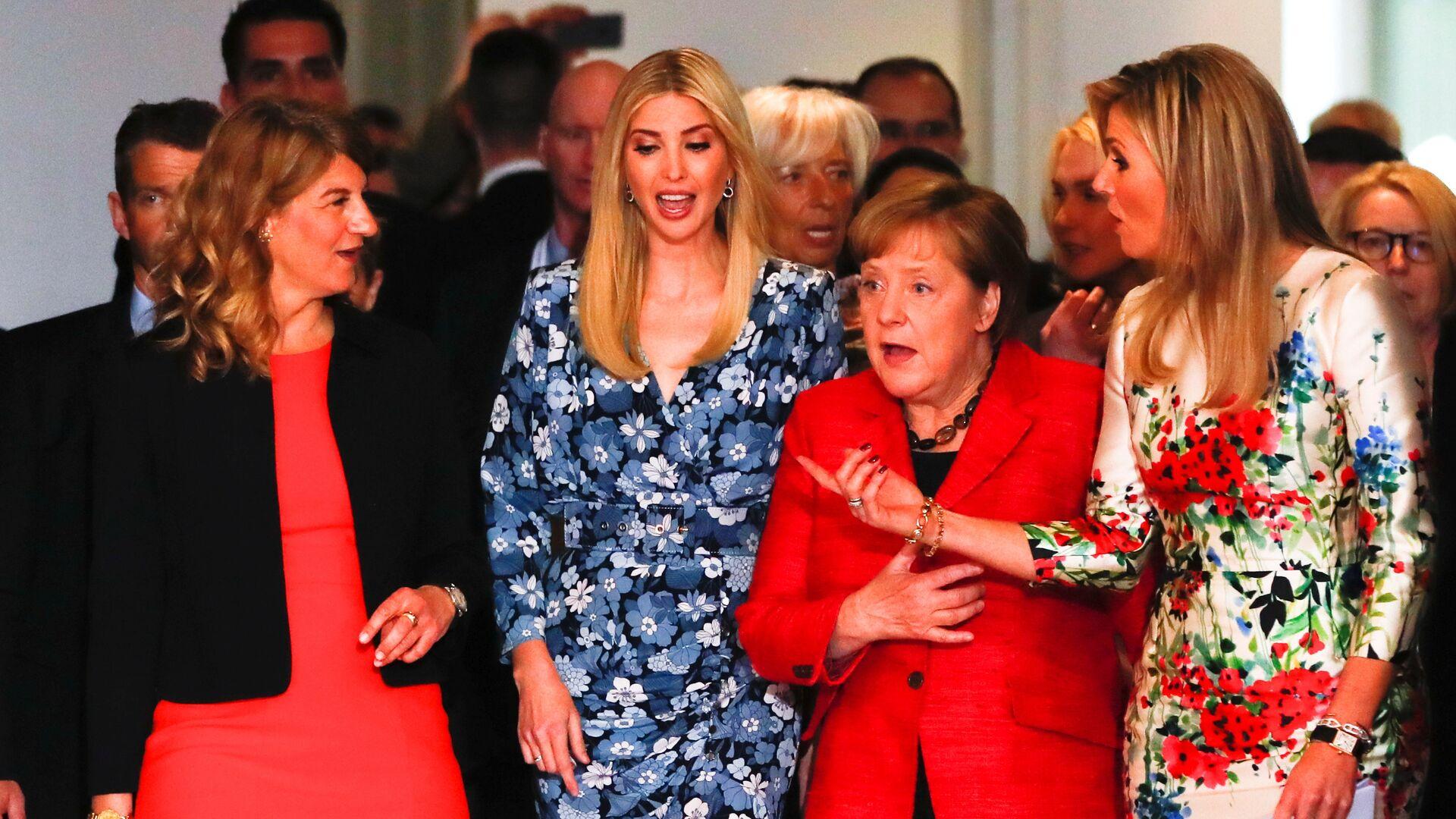 Angela Merkel en la Cumbre del G20 en 2017 - Sputnik Mundo, 1920, 09.09.2021