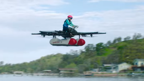 Uno de los fundadores de Google presenta un revolucionario auto volador - Sputnik Mundo