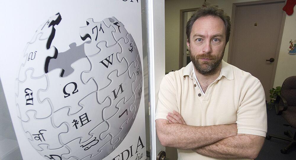 Jimmy Wales, creador de Wikipedia