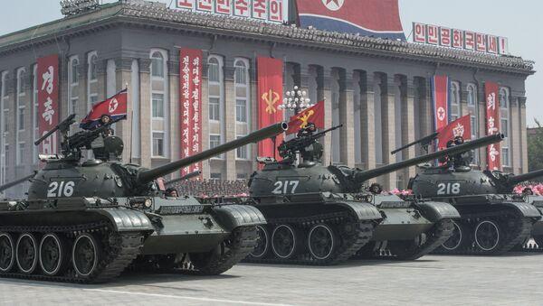 Las FFAA de Corea del Norte (Archivo) - Sputnik Mundo