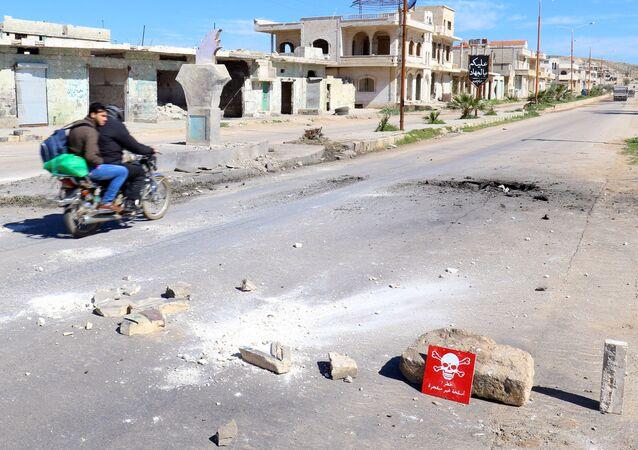 Ataque químico en Idlib (archivo)