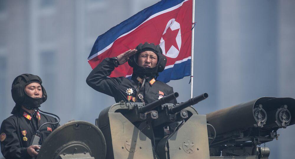 Un militar norcoreano