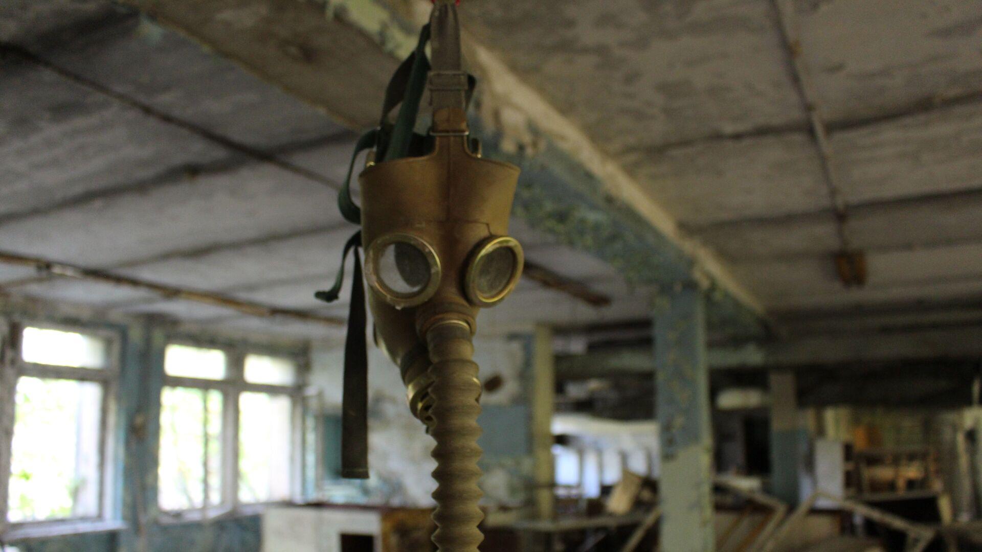Máscara antigás en Chernóbil - Sputnik Mundo, 1920, 12.06.2019