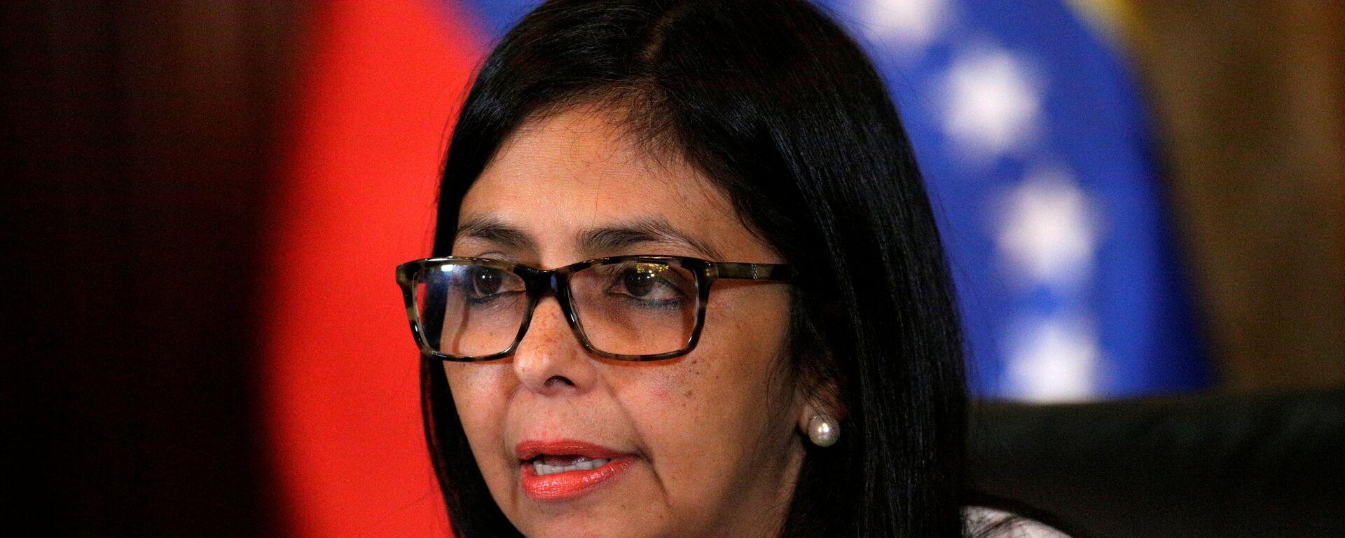 Delcy Rodríguez, ministra de Exteriores de Venezuela - Sputnik Mundo, 1920, 14.05.2021
