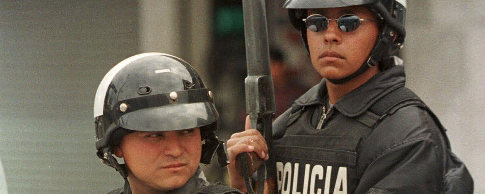 Policía de Ecuador (archivo) - Sputnik Mundo, 1920, 31.05.2021