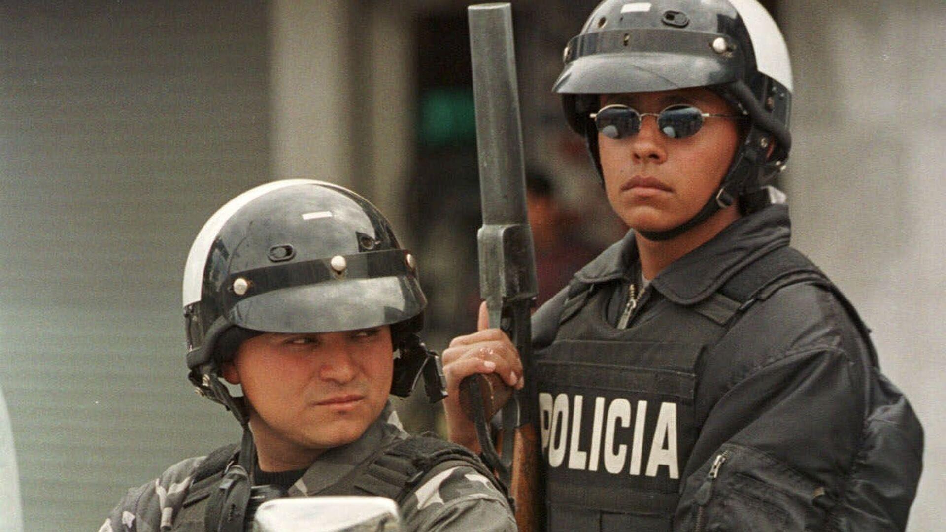 Policía de Ecuador (archivo) - Sputnik Mundo, 1920, 06.04.2021