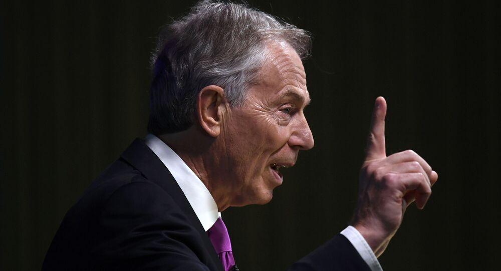 Tony Blair, ex primer ministro de Reino Unido (archivo)