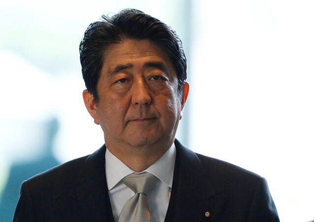 Shinzo Abe, primer ministro de Japón (archivo)