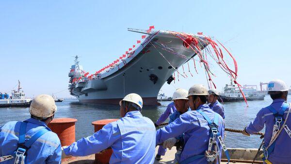 La botadura del segundo portaviones chino, Type 001 - Sputnik Mundo