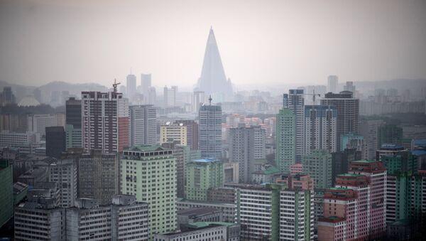 La vista de Pyongyang, la capital de Corea del Norte - Sputnik Mundo