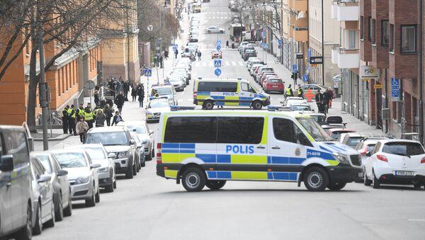 Policía de Estocolmo - Sputnik Mundo