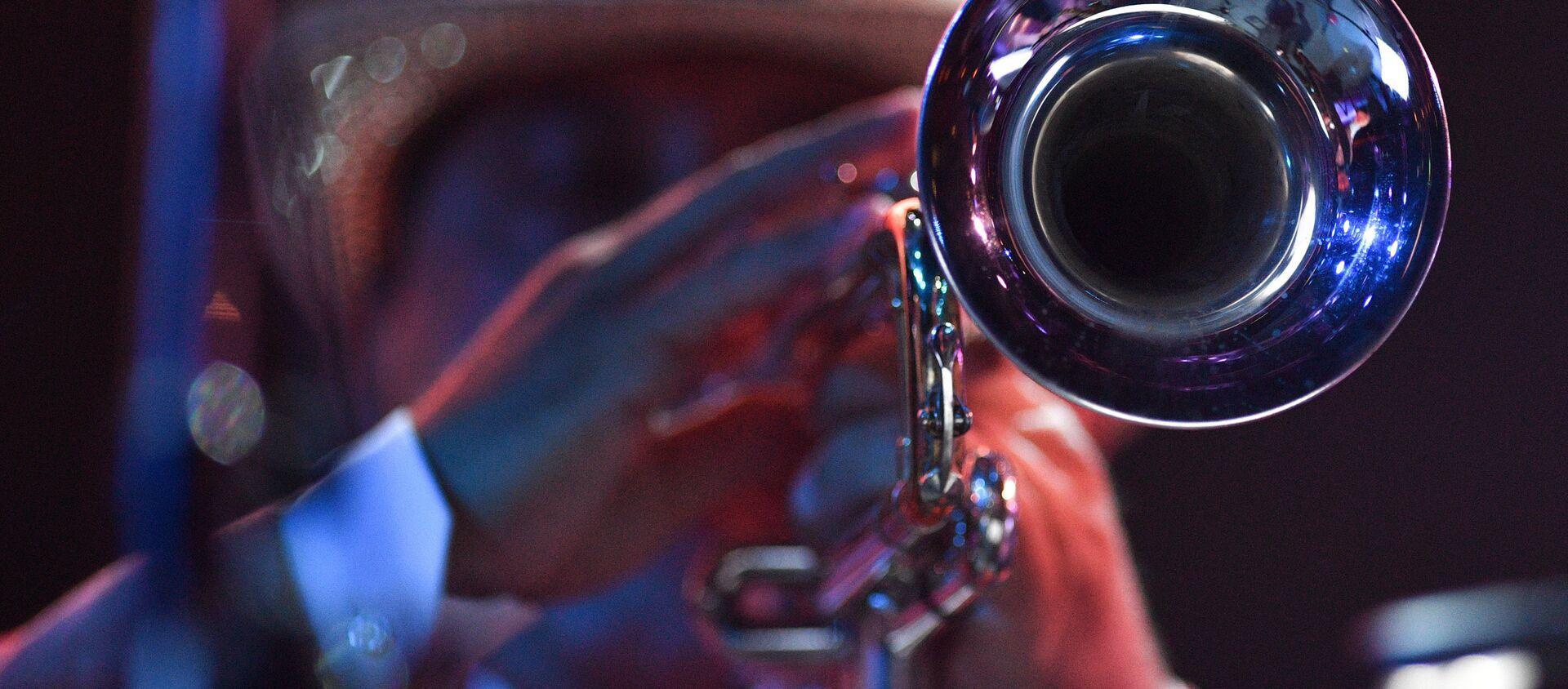 Un músico de jazz - Sputnik Mundo, 1920, 30.04.2019
