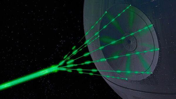 Súper láser de la Estrella de la Muerte en la película 'Star Wars: Episode IV - A New Hope' - Sputnik Mundo