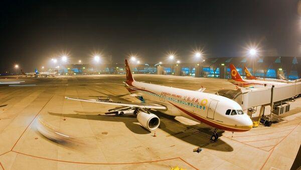 Aviones de la aerolínea china Chengdu Airlines - Sputnik Mundo