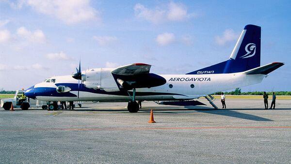 Aeronave An-26 perteneciente a Aerogaviota (archivo) - Sputnik Mundo