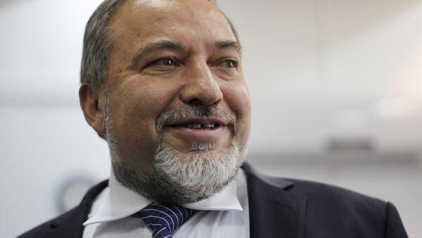 Avigdor Lieberman, político israelí - Sputnik Mundo