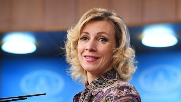 María Zajárova - Sputnik Mundo