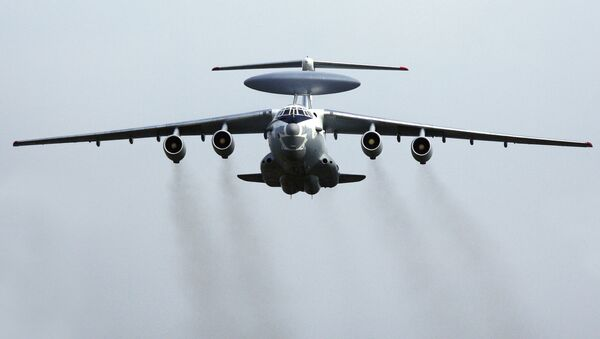 El avión ruso de alerta temprana y control aerotransportado A-50 - Sputnik Mundo