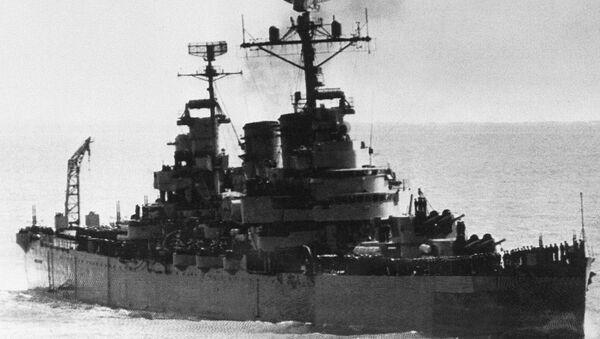 Crucero General Belgrano (archivo) - Sputnik Mundo