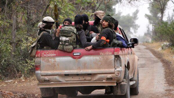 Miembros del grupo terrorista Ahrar al Sham - Sputnik Mundo