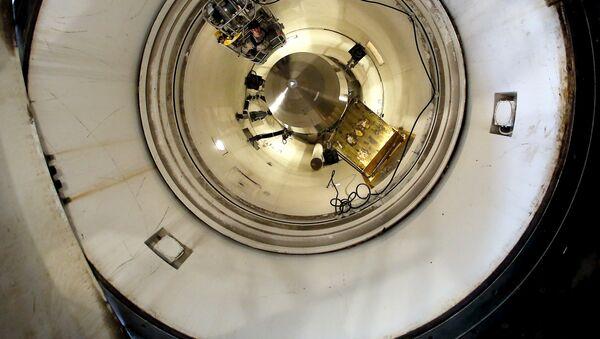 El misil Minuteman III - Sputnik Mundo