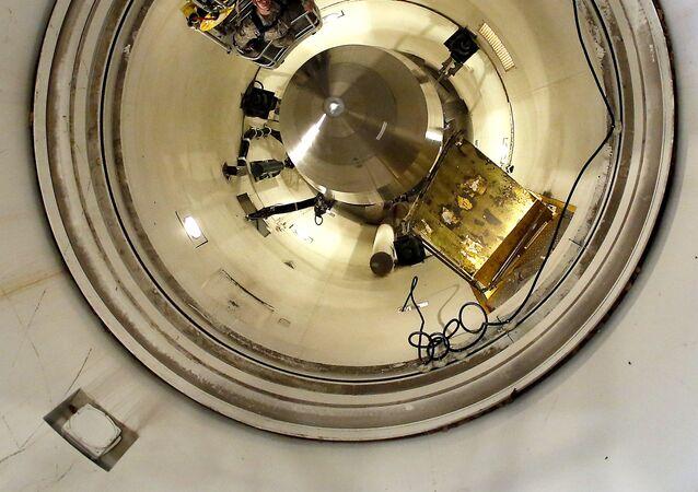 El misil Minuteman III (archivo)