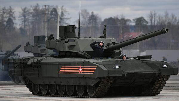El tanque ruso T-14 Armata - Sputnik Mundo