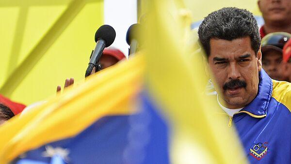 Nicolas Maduro, presidente de Venezuela (archivo) - Sputnik Mundo