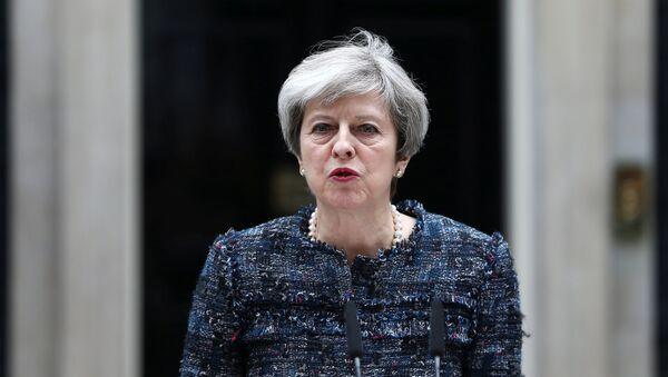Theresa May, primera ministra del Reino Unido (archivo) - Sputnik Mundo