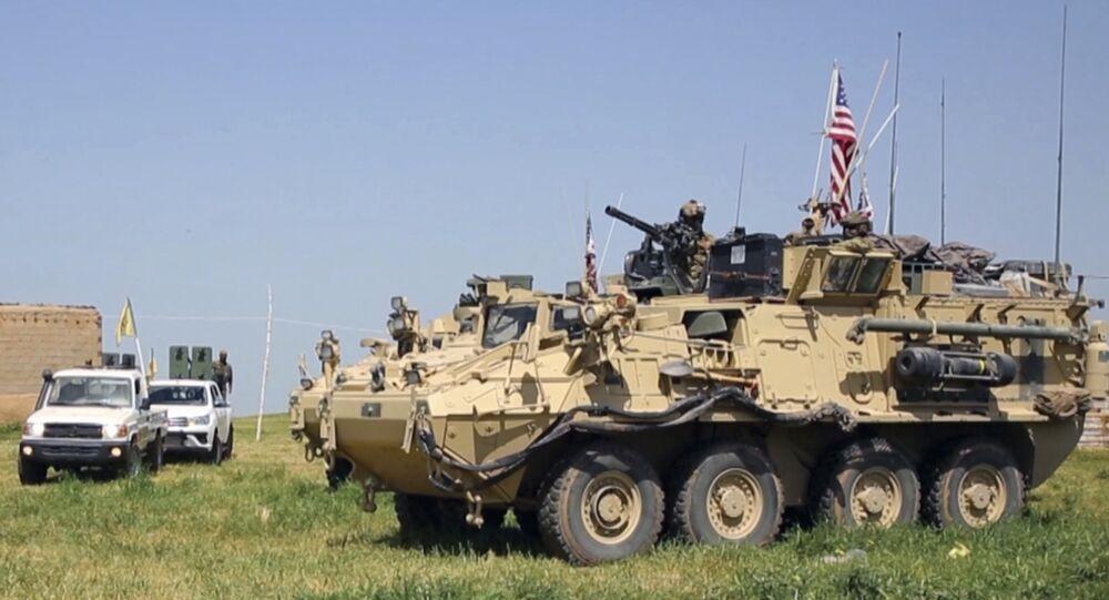 Tropas estadounidenses en Siria (archivo)