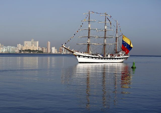 Buque escuela Simón Bolívar de la Fuerza Armada de Venezuela