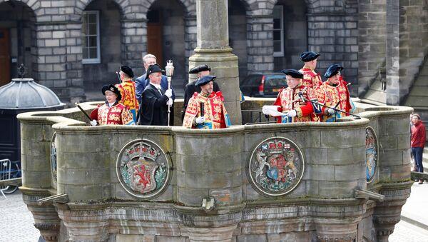 Ceremonia electoral en Escocia - Sputnik Mundo
