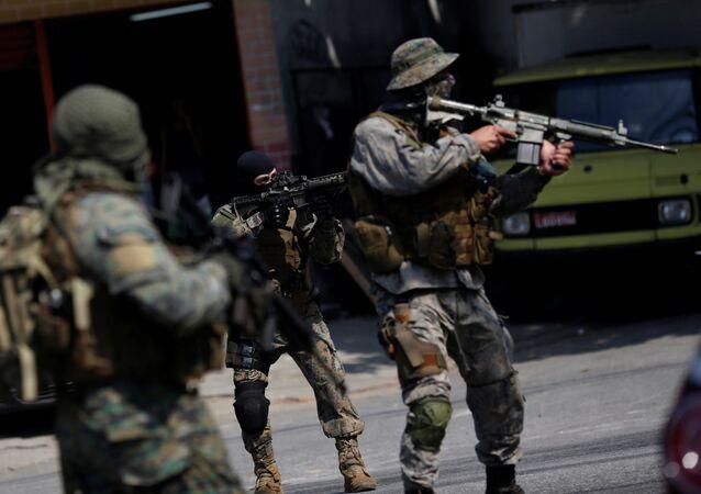 El Batallón de Operaciones Especiales (BOPE)