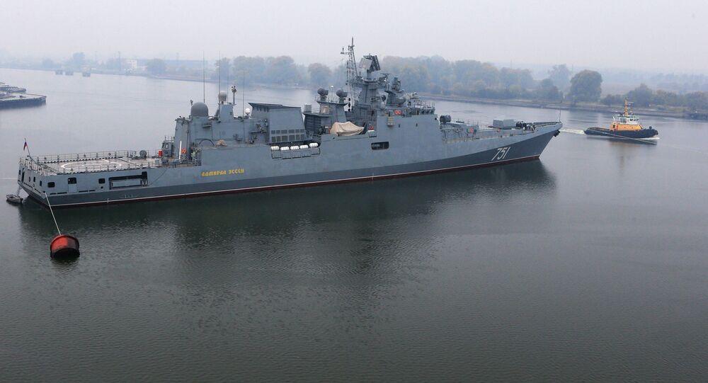 Fragata Almirante Essen (archivo)