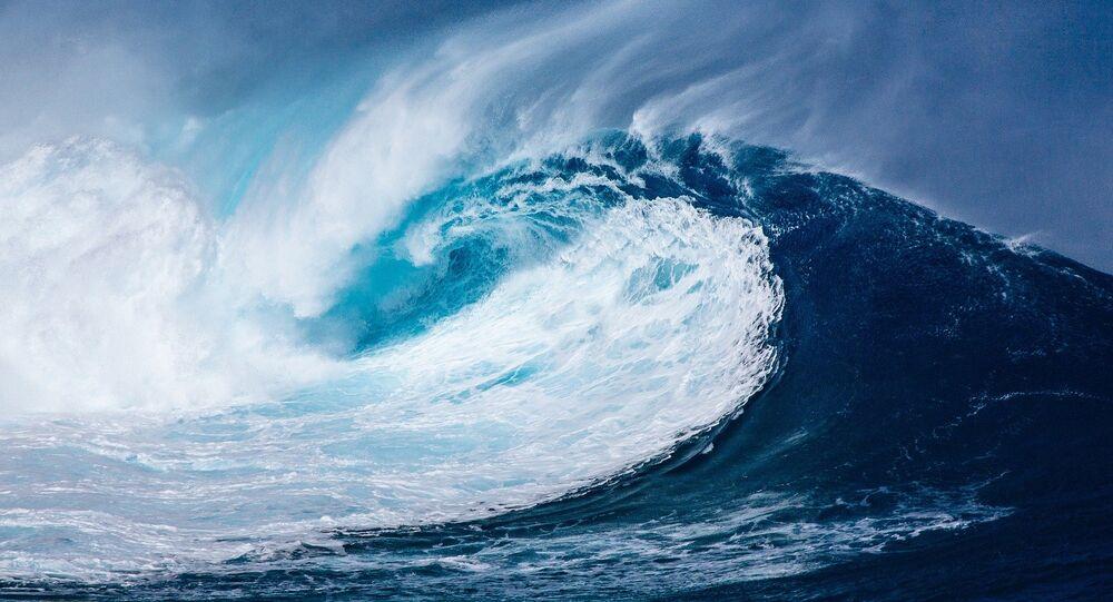 Un tsunami (Archivo)