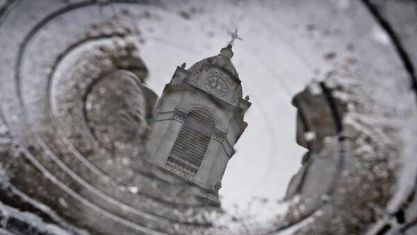 Una iglesia en Buenos Aires, Argentina - Sputnik Mundo