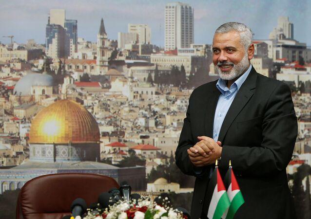 Ismail Haniyeh, nuevo líder de Hamás (archivo)