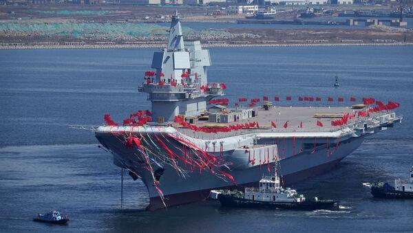 El portaviones chino Type 001 - Sputnik Mundo