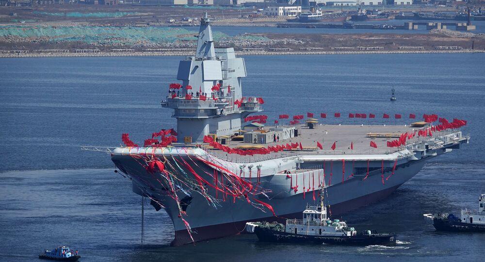 El portaviones chino Type 001